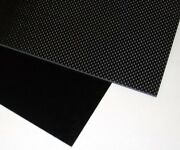 12 X 9 X 6.0mm 3k Real Carbon Fiber Panel Knife Handle Material Blank