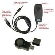 Pryme Bt-m01j-kit1 Bluetooth Adapter With Wireless Ptt For Kenwood Mobile Radios