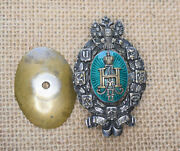 Russian Tsar Imperial Badge Commemoration 50 Years Of Zemsky Institutions Silver