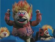George S. Irving Signed 8x10 Photo The Year Without A Santa Claus Heat Miser B