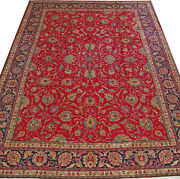 9and039 7 X 12and039 10 Tabriz Wool Authentic Hand Knotted Persian Rug