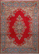 9and039 10 X 13and039 3 Kerman Wool Authentic Hand Knotted Persian Rug