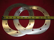 Lot Of 4 Inspection Plate Rings Surplus Grumman Tiger Production For 7x9andrdquo Plate