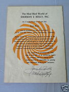 Jack Starr 1968 The Mod Mod World Of Sherman And Reilly 1st Sell-in Certificate