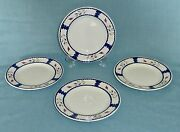 Lot Of 4 Adams China Lancaster Ironstone Bread And Butter Plates 6 1/8