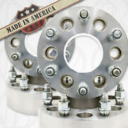 4 Pc.   Usa Made   Fits Toyota   Wheel Spacers   6x5.5   12x1.5 Studs   2  