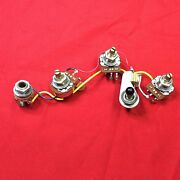 Vintage 1984 Usa Gibson Flying V Guitar Wiring Harness Pots Cap Switch 1985