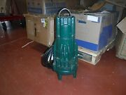 New Zoeller 2 Hp 2 Auto Submersible Sewage Pump 230v Tether Wd295 T