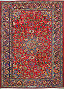 8and039 10 X 12and039 2 Esfahan Wool Authentic Hand Knotted Persian Rug