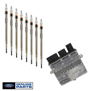 Motorcraft Glow Plug And Controller Kit   2015 Ford 6.7l Powerstroke Truck