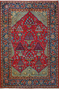 6and039 11 X 10and039 8 Kashan Wool Authentic Hand Knotted Persian Rug