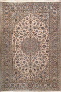 6and039 9 X 9and039 11 Kashan Wool Authentic Hand Knotted Persian Rug
