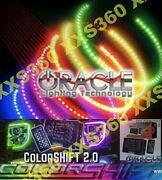 Oracle Halo Headlights Foglights Hid Style Dodge Challenger 08-14 Colorshift 2.0