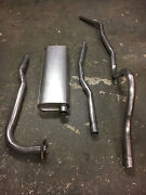 1942-48 Dodge Plymouth Hardtop Stock 6 Cylinder Single Complete Exhaust System