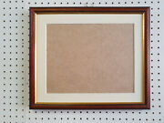 Buy Direct - 20mm Walnut And Gold Photograph/picture Frame With Picture Mount