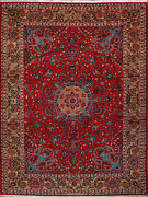 10and039 0 X 13and039 3 Esfahan Wool Authentic Hand Knotted Persian Rug