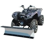 60 S Kfi Complete Plow Kit W/ 2500 Maddog Winch Kit 07-18 Yamaha 700 Grizzly