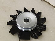 Original Gm 1969-70 Corvette 350 Alternator Fan And Pulley Ncrs Stamped 6