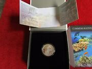2012 Israel Coral Reef Eilat Prooflike Silver Coin With Mint Box And Coa New