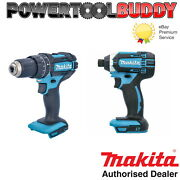 Makita Dhp458rtj 18v Lxt Li-ion Combi Drill With 2 X 5.0ah Batteries And Charger