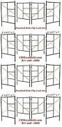 Cbm Scaffold Eight Set Flip Lock 5and039 X 6and0397 X 7and039 Masonry Scaffolding Frame Set