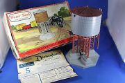 Plasticville - 1615-100 Water Tank - Gray Tank W/brown Rood - Box - Excellent