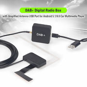 Dab+digital Radio Box With Amplified Antenna For Android 7.1-10.0 Car Stereo 354