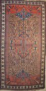 Persian Kurdish Antique Rug - Hand Knotted - Over 90 Years Old