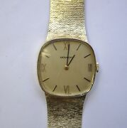 Stunning Vintage Menand039s 14k Solid Gold Movado 17 Jewel Zenith Movement 55g Watch