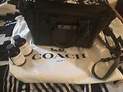 Coach Swagger 27 In Glovetanned Leather Leather Cleaner And Moisturizer Included