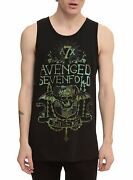 Avenged Sevenfold A7x Hail The King T-shirt Tank Top New Authentic And Licensed