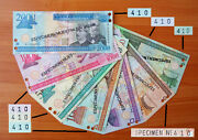 Dominican Republic 2003 Specimen Complete Set With Same Numbers - 410 Unc