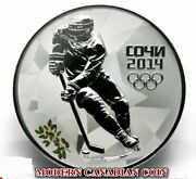 Russia 3 R.- 3 Sterling Silver Coins- Sochi 2014ice Hockey- Figure Skating-luge
