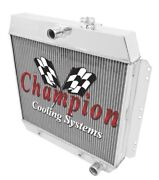 Best Cooling 2 Row Radiator With 1 Tubes For 1949 - 54 Chevrolet Cars