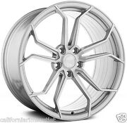 20andrdquo Ag M632 Rotary Forged Satin Silver Wheels Rims 20x8.5 Fits Audi C7 A6 S6