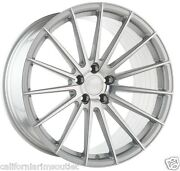 """22"""" Ag M615 Machined Silver Wheels Rims For Mercedes W221 S550 2007 - 2013"""