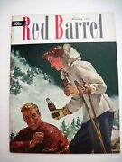 Feb.1951 The Red Barrel Coca-cola Magazine W/lots Of Pictures Of Movie Stars
