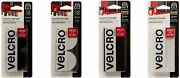 Velcro Brand Industrial Strength 2 Inch Wide Tape, 4 Lengths, 2 Colors