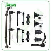 14x For 1978-1988 Chevrolet Monte Carlo Tie Rod Ball Joints Center Link Sway Bar