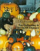 1987 The Toy Farmer Magazine October - Ih Pedal Tractors/custom Builders