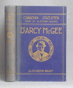 Vintage Biography Of Thomas D'arcy Mcgee By Alexander Brady Canada Fenian