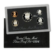 1994-s 90 Silver Proof Set United States Mint Original Government Packaging Box