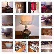 Vintage Furniture And Lamps/ Mid-century/1970's-