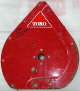 Toro 2 Stage Snowblower Auger Right Hand Side Plate And Bearing For 38050- Used