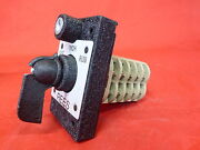 Rees 04925-316-586 New In Box 3 Position Selector Switch With 2 Keys 3b4