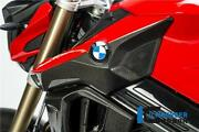 Ilmberger Gloss Carbon Fibre Air Tube Intake Snorkel Duct Covers Bmw F800r 2015