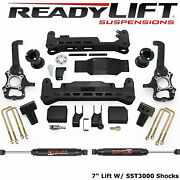 Readylift 2015-2020 Ford F150 4wd 7 Inch Lift Kit With Sst3000 Shocks 44-2575-k