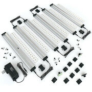 Eshine 6 Panels 12 Inch Led Dimmable Under Cabinet Lighting Kit - Cool White