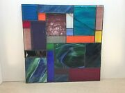 Stained Glass Panels,windows,wall Hangings,art,sunchasers, Lamps,pictures