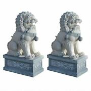 Forbidden City Guardian Of Thecenturies Giant Giant Foo Dog 30 Statues Set Of 2